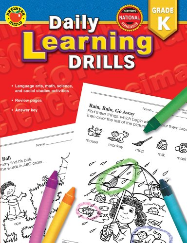 9780769630908: Daily Learning Drills Grade K