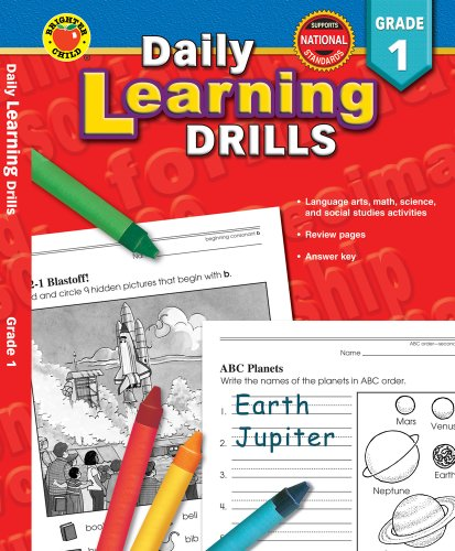 9780769630915: Daily Learning Drills Grade 1