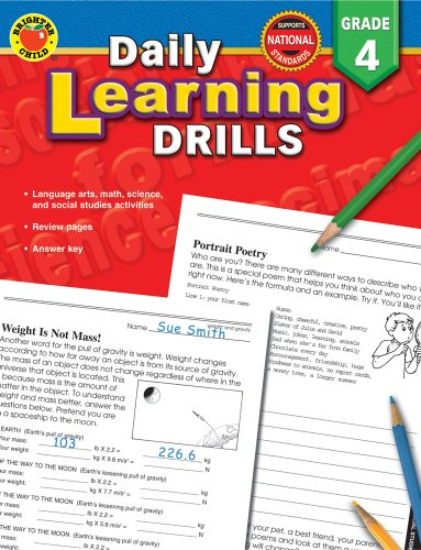 9780769630946: Daily Learning Drills Grade 4