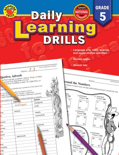 Daily Learning Drills Grade 5: Vincent Douglas; Compiler-Brighter Child