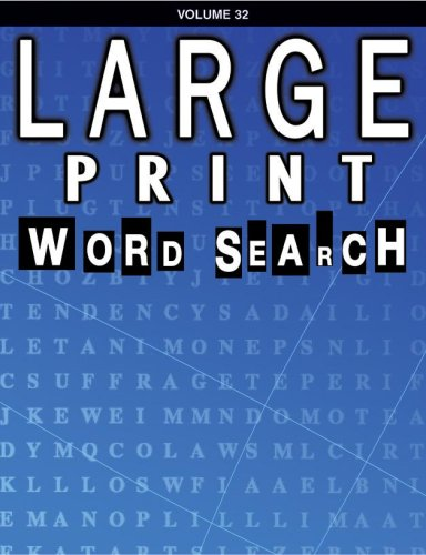 Large Print Word Search Book: School Specialty Publishing, Douglas, Vincent