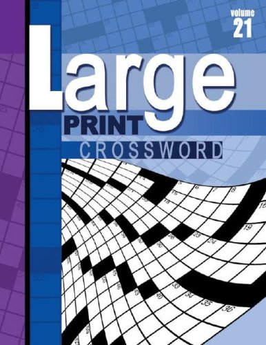 Large Print Crossword Book: School Specialty Publishing, Vincent Douglas