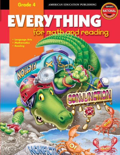 9780769633640: Everything for Math and Reading, Grade 4 (Everything for Early Learning)