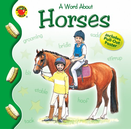 9780769633879: A Word about Horses (Brighter Child: Word About...)