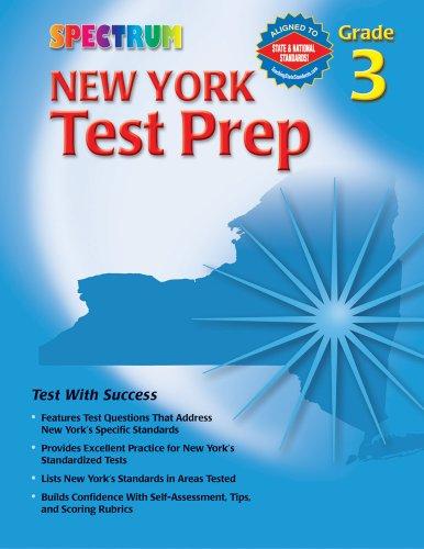 9780769634937: Spectrum New York Test Prep, Grade 3 (Spectrum (McGraw-Hill))