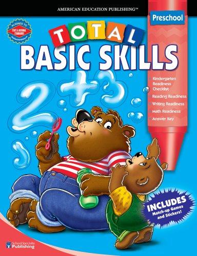 9780769636399: Total Basic Skills, Grades Toddler - Pk