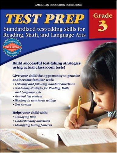 9780769636535: AEP Test Prep, Grade 3