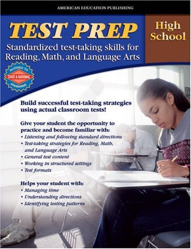 9780769636573: AEP Test Prep, High School