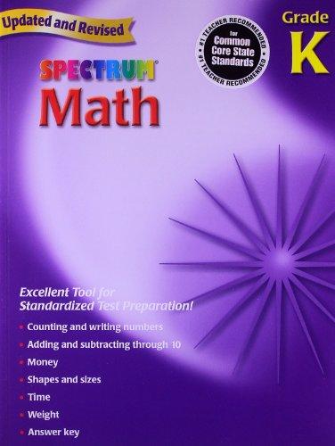 9780769636900: Spectrum Math Grade K