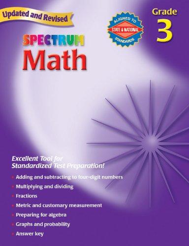 9780769636931: Spectrum Math, Grade 3