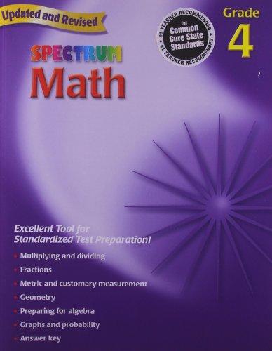 9780769636948: Spectrum Math, Grade 4