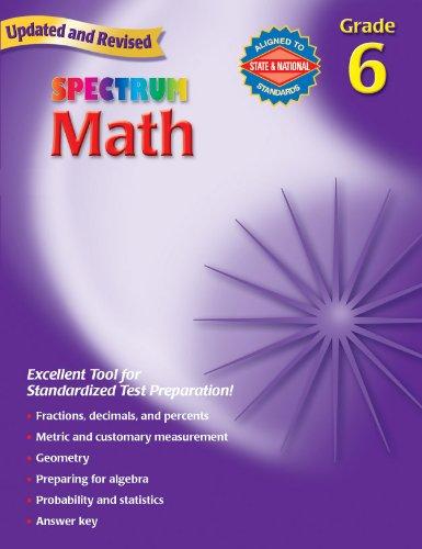 9780769636962: Spectrum Math: Grade 6