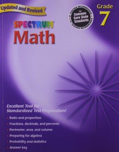 9780769636979: Spectrum Math, Grade 7
