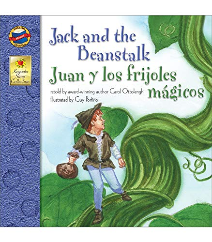 9780769638164: Jack and the Beanstalk, Grades PK - 3: Juan y los frijoles magicos (Keepsake Stories)