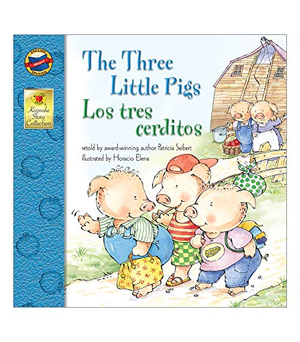 9780769638188: The Three Little Pigs: Los tres cerditos (Keepsake Stories)