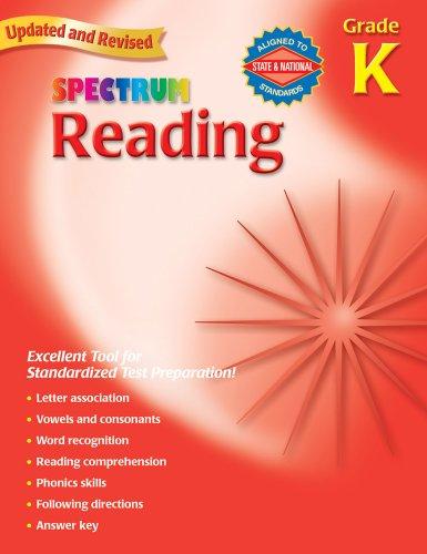 9780769638607: Spectrum Reading, Kindergarten