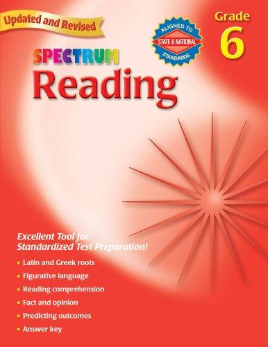 9780769638669: Reading, Grade 6 (Spectrum)