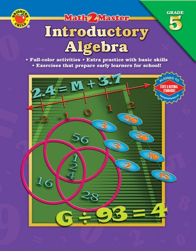 9780769639253: Math 2 Master Introductory Algebra, Grade 5