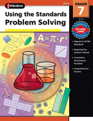 9780769640372: Using the Standards - Problem Solving, Grade 7 (100+)