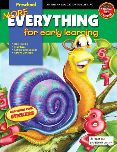 9780769640990: More Everything for Early Learning, Preschool