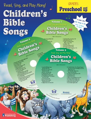 9780769643151: Read, Sing, and Play Along! Children's Bible Songs