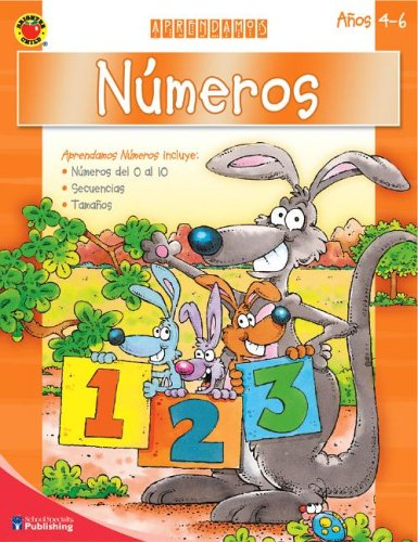 9780769643243: Numeros: Anos 4-6 [With Stickers] (Brighter Child: Aprendamos)