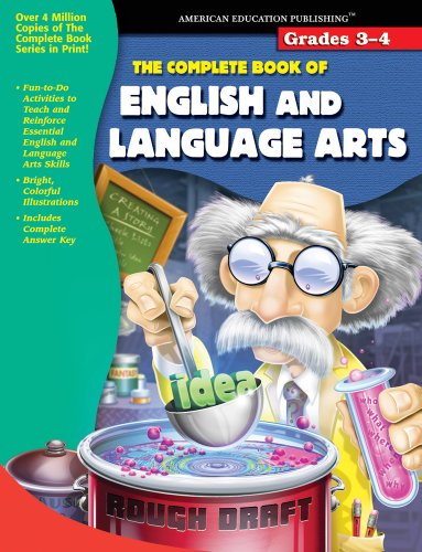 9780769643311: The Complete Book of English and Language Arts, Grades 3-4