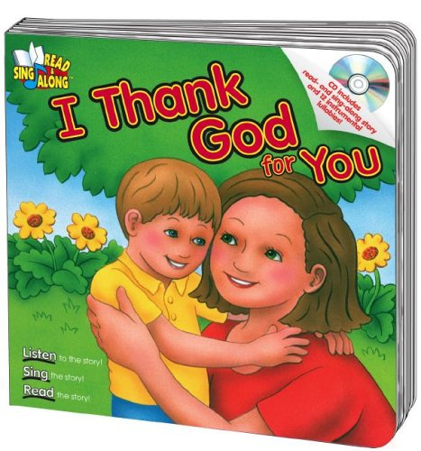 9780769644561: I Thank God for You Read & Sing Along Board Book With CD