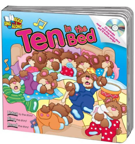 9780769644578: Ten in the Bed (Read & Sing Along)