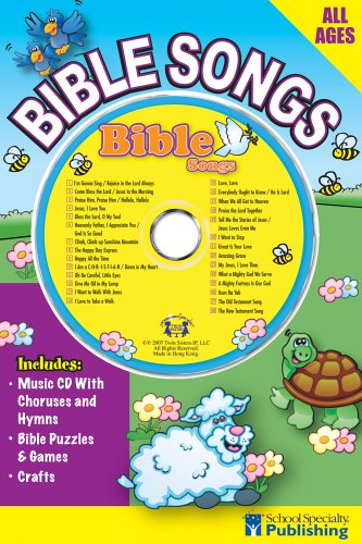 9780769645766: Bible Songs Sing Along Activity Book with CD (Sing Along Activity Books)