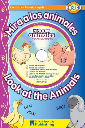 9780769646145: Mira a los animales / Look at the Animals Spanish-English Reader With CD (Dual Language Readers) (English and Spanish Edition)