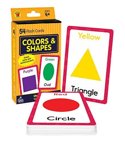 9780769646893: Colors and Shapes (Brighter Child Flash Cards)