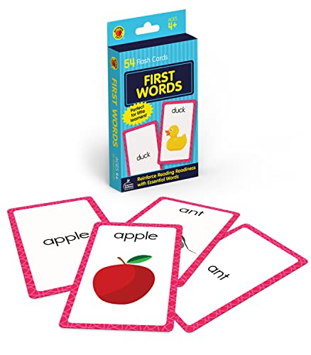 9780769647197: First Words Flash Cards (Brighter Child Flash Cards)