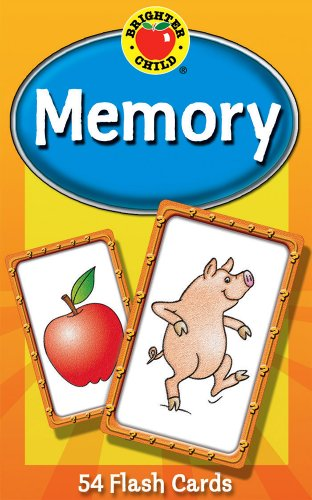 9780769647296: Memory (Brighter Child Flash Cards)