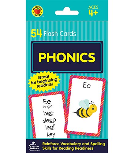 9780769647494: Phonics Flash Cards (Brighter Child Flash Cards)