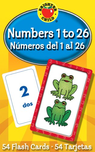 9780769647890: Numbers 1 To 26 / Numeros del 1 al 26 (Brighter Child Flash Cards)