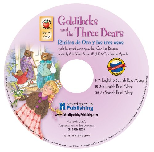 9780769648071: Goldilocks and the Three Bears (English-Spanish Brighter Child Keepsake Stories Audio CDs)