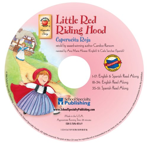9780769648163: Little Red Riding Hood (English-Spanish Brighter Child Keepsake Stories Audio CDs)