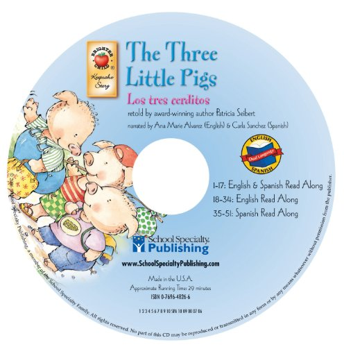 9780769648262: The Three Little Pigs English-Spanish Audio CD (Keepsake Stories) (Spanish and English Edition)