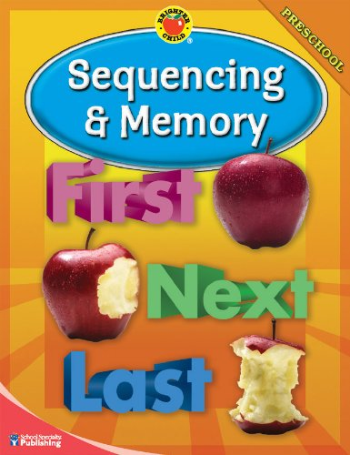 9780769648293: Brighter Child® Sequencing and Memory, Preschool (Brighter Child Workbooks)