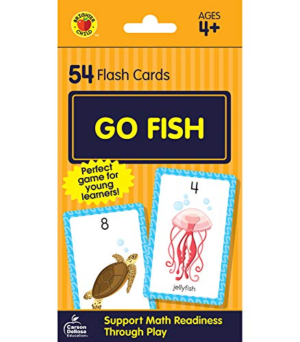 9780769648392: Go Fish Card Game (Brighter Child Flash Cards)