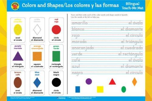 9780769648590: Los Colores y Las Formas/Colors and Shapes Spanish-English Teach-Me Mat (Brighter Child: Edu-Mats (Bilingual))