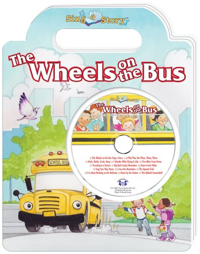 9780769649153: The Wheels on the Bus Sing a Story Handled Board Book with CD