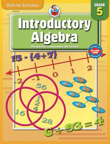 9780769649757: Skills for Scholars Introductory Algebra, Grade 5