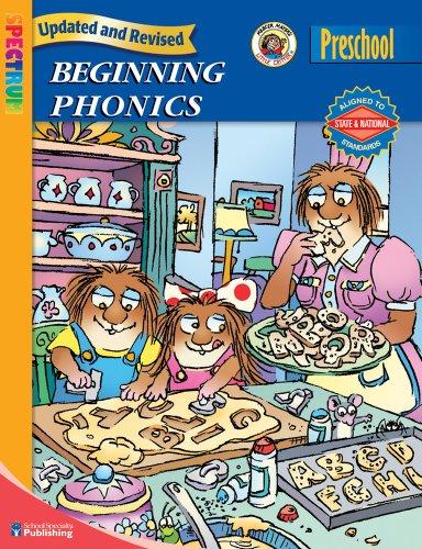 9780769651590: Spectrum Beginning Phonics, Preschool