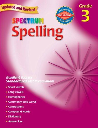 9780769652634: Spectrum Spelling, Grade 3