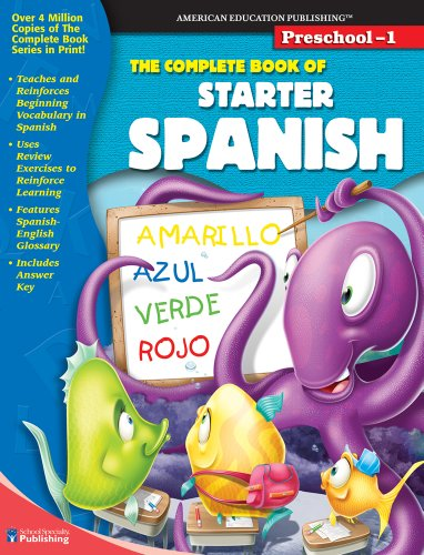9780769652795: The Complete Book of Starter Spanish (Spanish and English Edition)