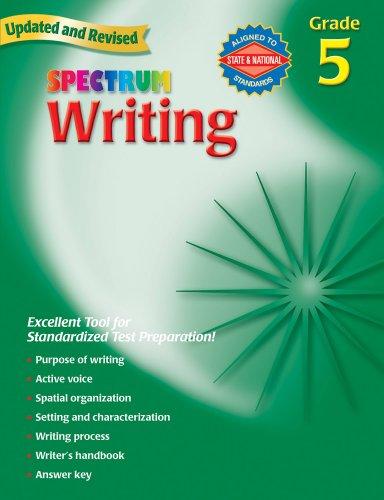 9780769652856: Spectrum Writing, Grade 5