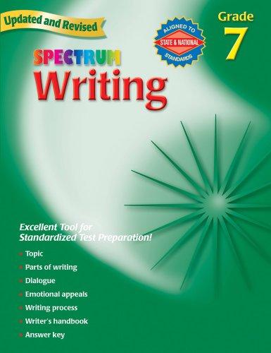 9780769652870: Spectrum Writing, Grade 7