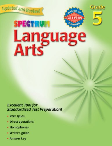 9780769653051: Language Arts: Grade 5